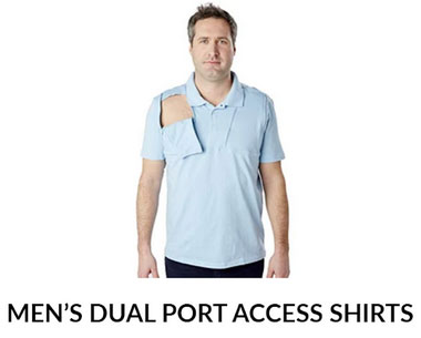 infusion-accessible clothing